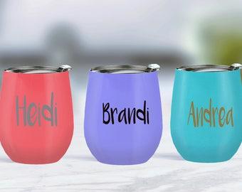 Personalized Swig - Swig Cup - Swig Wine Tumblers - Swig Wine Glasses - Swig Wine Glass - Stainless Wine Glass - Swig Wine - Swig Glasses