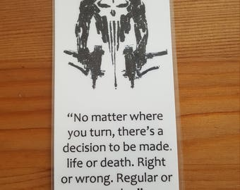Punisher Bookmark