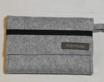 Wallet, felt wallet, multipurpose wallet