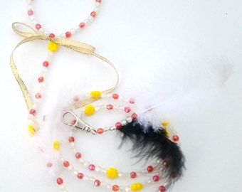 Jewelry for small dog leash