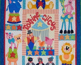 Toytime Circus Quilt Pattern - Set of 8 Patterns