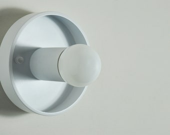 MASON - White Modern Wall Sconce - Ceiling Light, UL Listed, Accent Lighting, Minimalist Light