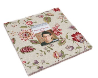 "Jardin de Versailles Layer Cake (42 - 10"" x 10"" squares) designed by French General for Moda Fabrics"