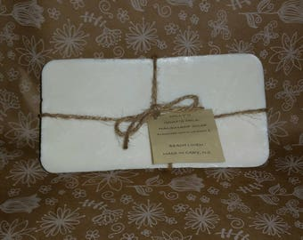 Goat's Milk Soap, SCENTED Soap, Pick your Scent, HANDMADE, Uncut 2 LB. Loaf, Goat Milk Soap