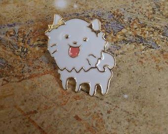 Cute Dog Pin // Lapel Pin // Enamel Lapel Pin // Hard Lapel Pin
