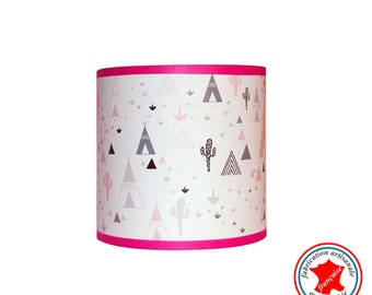 """Applique """"in my pink teepee"""""""