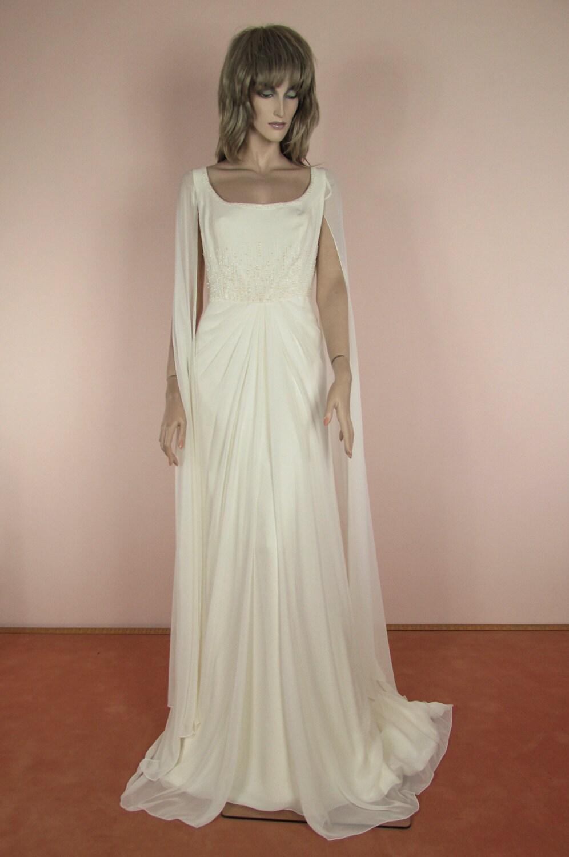 90\'s Vintage Wedding Dress Vintage Empire style