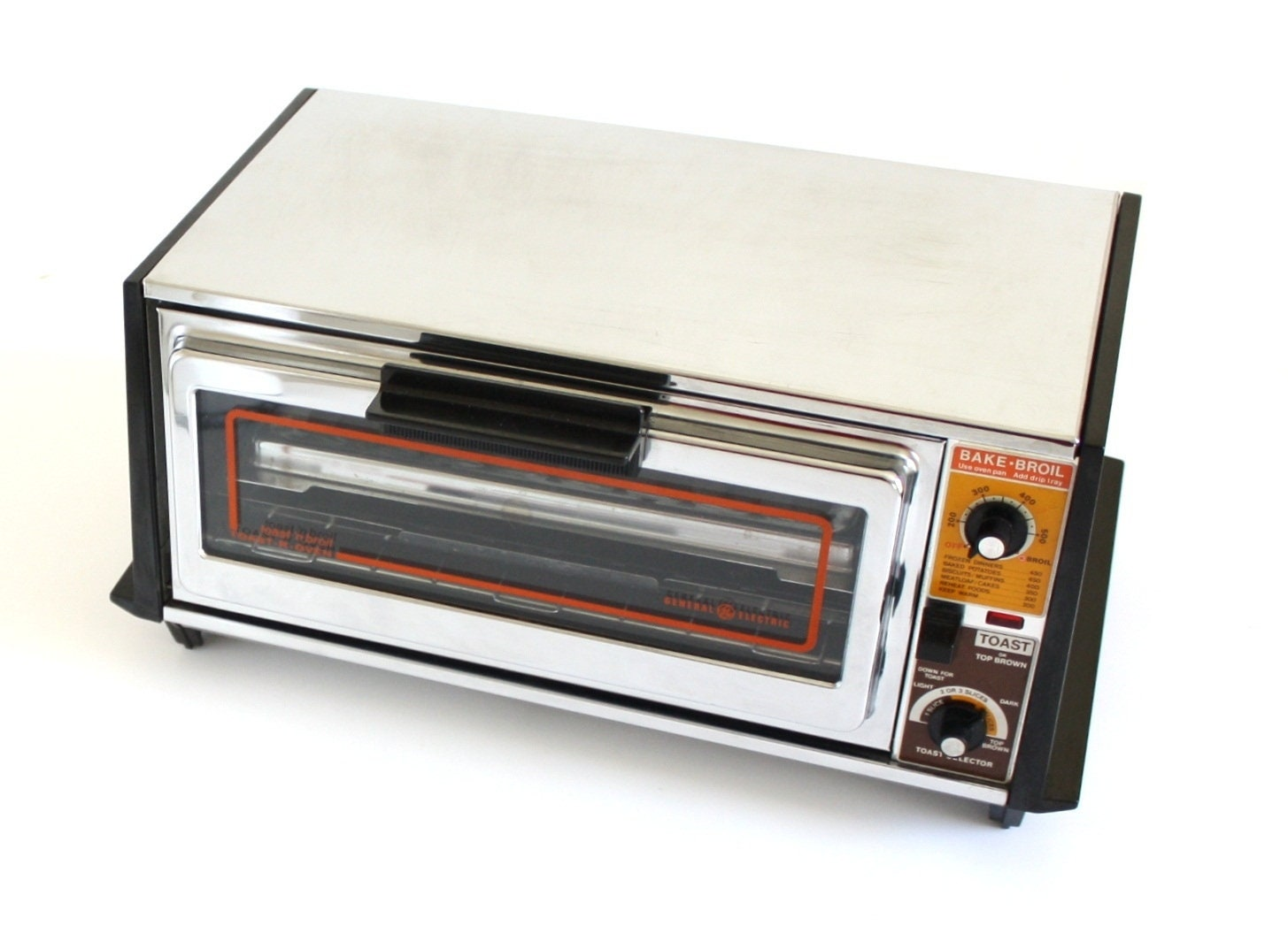 General Electric Toast n Broil Toaster Oven A10T26 GE Toast R