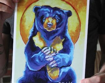 Sun Bear; Fine Art Print