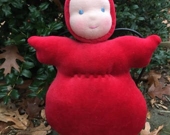 Bunting Doll 10 inch Waldorf Doll Ready to Go