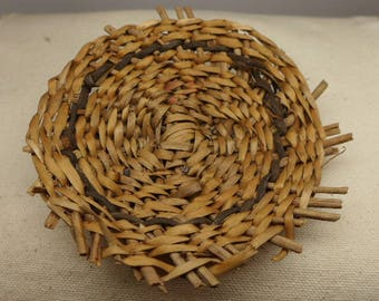 Vintage Apache  Basket - Native American Basket - Indian Basket