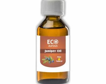 Eco Aurous Juniper Oil Pure & Natural Essential Oil   Juniper Essential Oil   Juniper Berry Oil   Pure Juniper Oil  Natural Juniper Oil