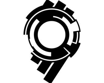 Ghost in the shell - section 9 vinyl decal