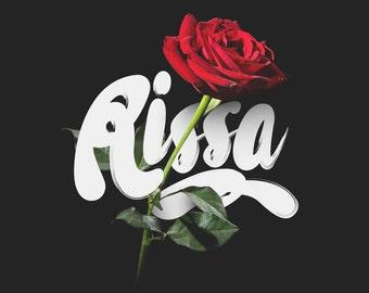 Rissa Typeface Brush Font Download