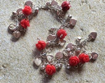 Rose Bracelet, Bracelet for Girls, Bracelet for Kids, Jewelry for Girls, Jewelry for Kids, Gift for Girls