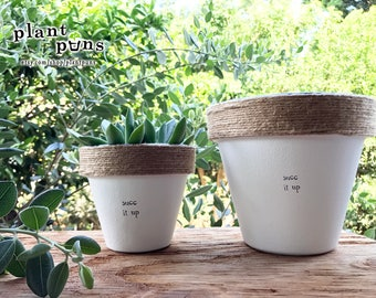 """6"""" Succ It Up. » Plant Indoor and Outdoor Pot or Planter"""