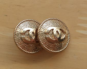 Chanel classic buttons - Listing for 2 Buttons