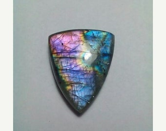 61% OFF SALE Labradorite Triangular Shape Cabochon