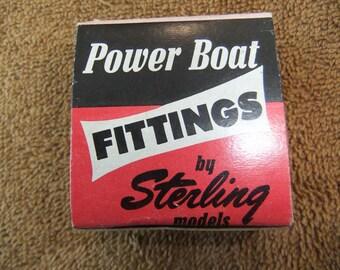 Vintage Model Power Boat Propeller Universal Fitting Solid Brass by Sterling Models