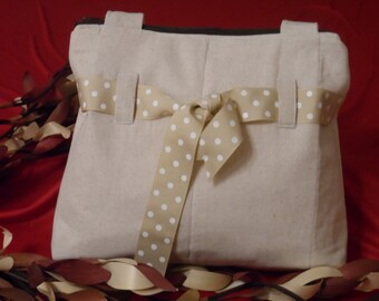 Dainty Tote Calico Bag