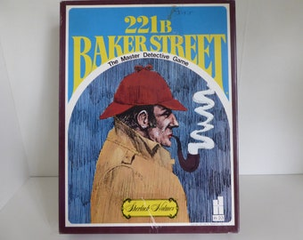 1977 221B Bakerstreet The Master Detective Game