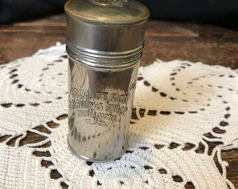 Vintage 1920s Colgate & Co. Shaving Stick Container, New York U.S.A.