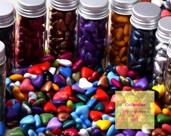 Buy 3 get 1 free-Heart Sealing wax, sealing wax in bottle-9 colors to choose from