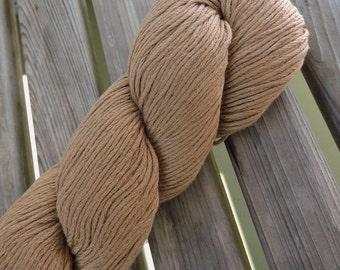 DK Weight Yarn - Linen Cotton Blend - 100g -  219 yards -  Ochre (#628) - Rowan Creative Linen  (Peru)