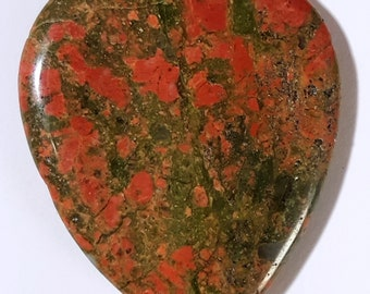 Guitar pick made from stone - colored Granite - new