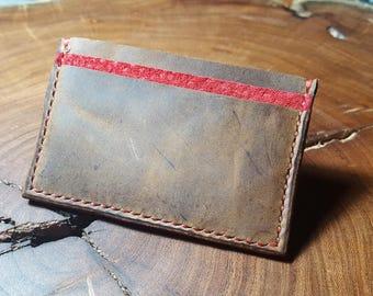 The Rustic Slim Wallet