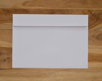 Enveloppe A5 blanche (lot de 15)