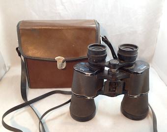 Vintage Bushnell Sportview B133 10 x 50 Binoculars with Case Serial Number R9386   01827