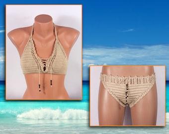 Crochet bikini, Women Swimsuit, Summer trends, LoveKnittings