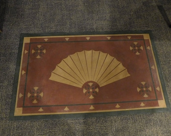 Floorcloth/ wall hanging