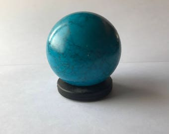 Turquoise Sphere 50 mm
