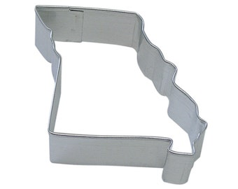 you pick State Cookie Cutter, Missouri, Kansas, Nebraska, Arkansas, Illinois state map cookie cutter