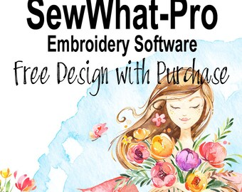 FREE DESIGN - SewWhat-Pro Embroidery Software - Sew What Pro - Embroidery Editing - Embroidery Software - Digitizing