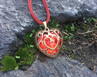 Royal Heart Container Necklace **Valentine's Day Limited Edition**