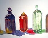 Glass Bottles, Original W...