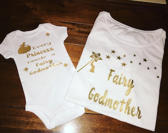 Godmother / Goddaughter shirts