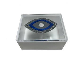 Evil Eye Acrylic Lucite  Box