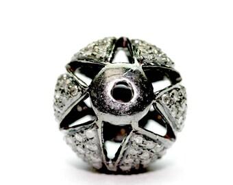 Silver Cage Ball