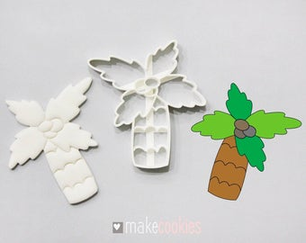 Palm Tree #2 Cookie Cutter