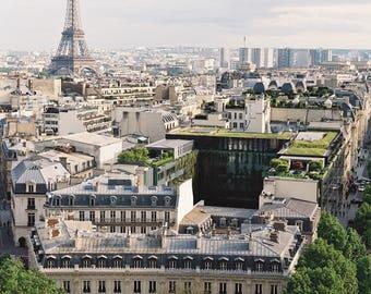 Paris Eiffel Tower Print 8x10, 11x14, 16x20