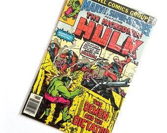 Vintage 1979 DC Comics The Incredible Hulk #85 NOV, Superheroes