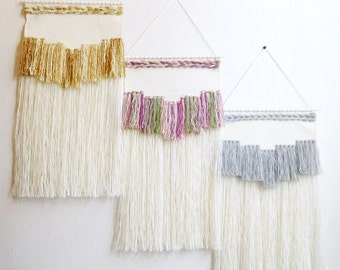 Wall weaving woven wall hanging tapestry, handwoven wall hanging, wall weaving, weaving wall hanging, hanging wall decor