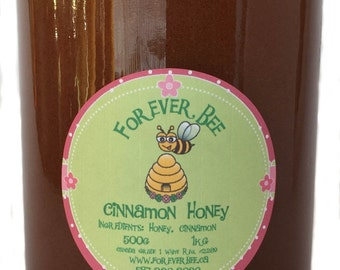 Cinnamon Honey - 1kg