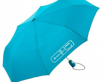 Umbrella personalized with your name in hieroglyphs