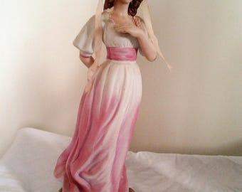 Vintage Chalkware Pinkie Figurines - Large -