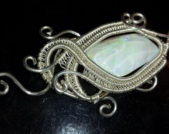Australian Opal Ethereal Pendant